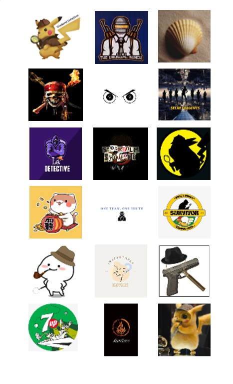 Group Icons Designed By Participants